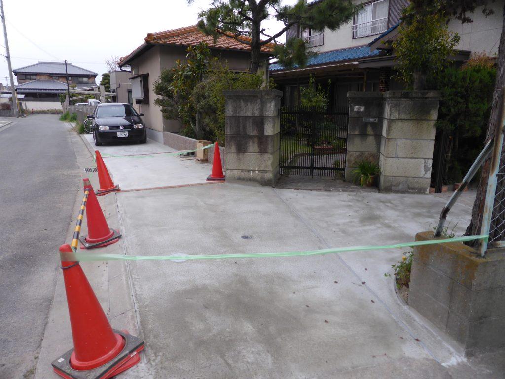 2回目の土間コンクリート打設