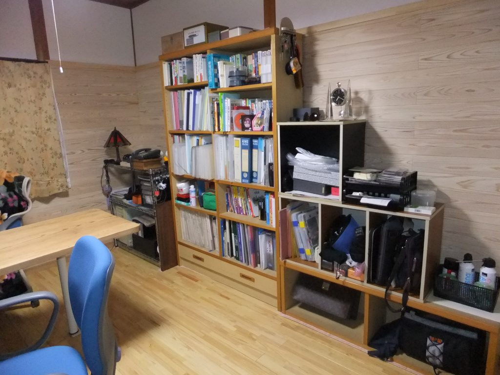 和室から洋室にリノベートした部屋